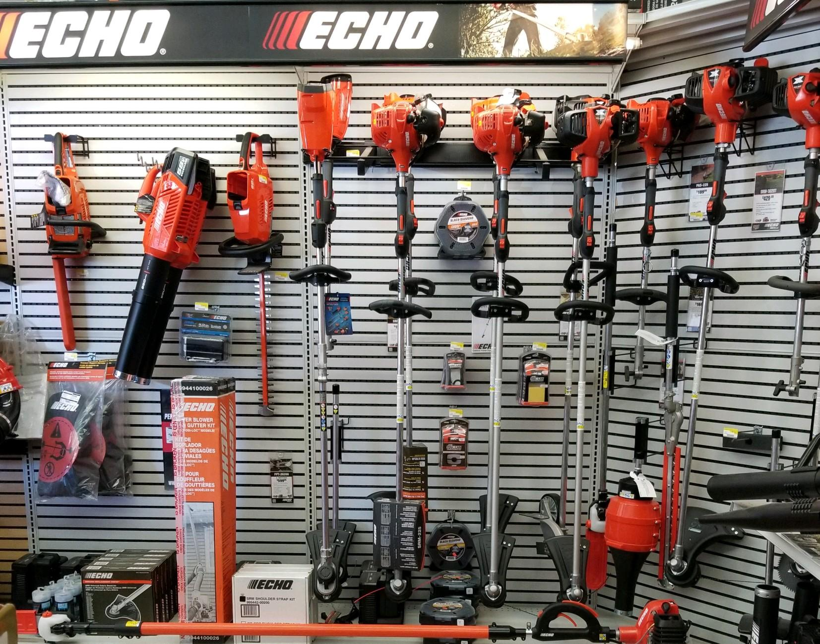 Echo - Weedeaters, Blowers, and Trimmers